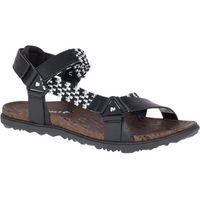 Merrell sandały damskie around town sunvue woven black 8 (41)