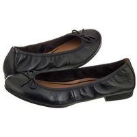 Baleriny czarne 1-22116-20 003 black leather (tm124-b), Tamaris, 37-40