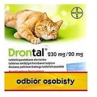 Drontal tabletki na pasożyty dla kotów 2tabl./op.Bayer (5909990034383)