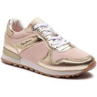 Sneakersy - verona w greek pls30873 gold 099, Pepe jeans, 36-41