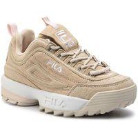 Sneakersy - disruptor s low wmn 1010605.00j feather gray marki Fila