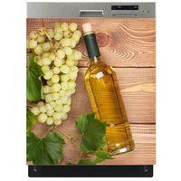 Mata magnetyczna na zmywarkę - aromatyczne białe wino 0516 marki Stikero