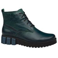 Trzewiki buty zimowe KACPER 4-5348-304 Zielone, kolor zielony