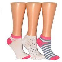 Stopki premium sox art.36312 damskie rozmiar: 39-42, kolor: biały-jeans, wik marki Wik