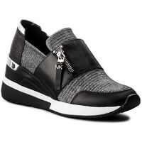 Sneakersy MICHAEL MICHAEL KORS - Chelsie Trainer 43T8CHFS1D Blk/Silver, 1 rozmiar
