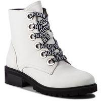Botki STEVE MADDEN - Lindia Ankleboot SM11000049 White Leather 107