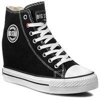 Sneakersy BIG STAR - U2740900 Black, kolor czarny