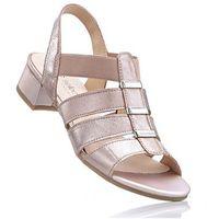 Sandały, tęgość G bonprix srebrny, 1 rozmiar