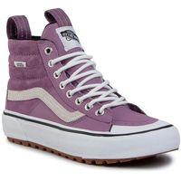 Sneakersy VANS - Ski8-Hi Mte 2.0 Dx VN0A4P3ITUK1 (Mte) Valerian/True White, kolor fioletowy
