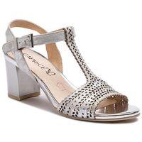 Sandały - 9-28301-22 silver shin.su 926 marki Caprice