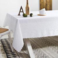 Room99 Obrus plamoodporny biały 150x350 rom165 - odbiór w 2000 punktach - salony, paczkomaty, stacje orlen (5902963476074)