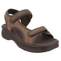 AZALEIA 320 323 brown, sandały damskie - Brązowy