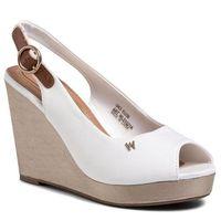 Sandały WRANGLER - Jazz Raval WL01521A White 051, kolor biały