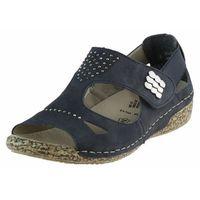 Sandały Rieker V7264-14 Granatowe