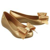 32252 ultragirl sweet xiv ad 19701 gold, baleriny damskie - złoty, Melissa