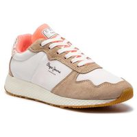 Sneakersy PEPE JEANS - Koko Sweet PLS30843 Off White 803, kolor biały