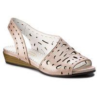 Sandały LANQIER - 42C0627 Pink, w 3 rozmiarach