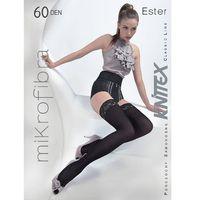 Pończochy Knittex Ester 60 den 4-L, czarny/nero. Knittex, 2-S, 3-M, 4-L, kolor czarny