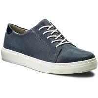 Sneakersy - wi23-holland-06 jeansowy marki Lasocki