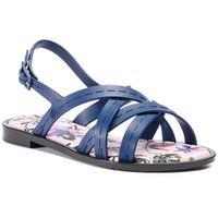 Sandały MELISSA - Hailey + Jason Wu Ad 32461 Blue/Black/Pink 53392, kolor niebieski