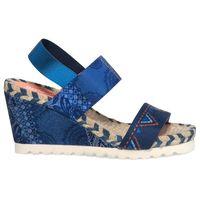 Desigual sandały damskie Ibiza Denim Beach 36 niebieski, kolor niebieski