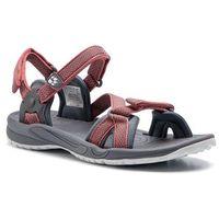 Jack wolfskin Sandały - lakewood ride sandal w 4019041 rose quartz