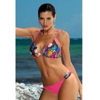 Kostium dwuczęściowy kostium kąpielowy model patricia foulard m-433 pink - marki Marko