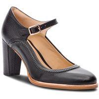 Półbuty CLARKS - Ellis Mae 261378004 Black Leather