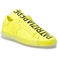 Sneakersy - 2v8869/a5k9-y355 fluo yellow, Patrizia pepe