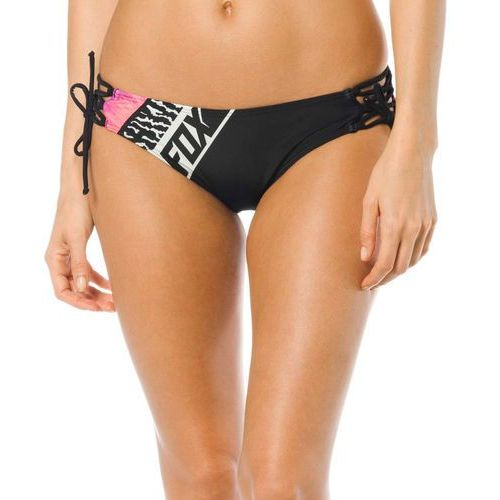 dół od bikini refraction lace up side tie xs czarny marki Fox