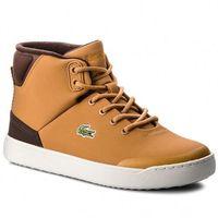 Lacoste Sneakersy - explorateur classic3181caj 7-36caj0006434 dk tan/dk brw