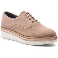 Oxfordy TOMMY HILFIGER - Easy Feminine Lace Up Shoe FW0FW03957 Portabella 029