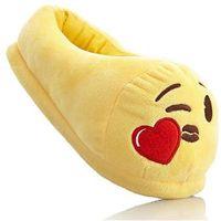 Kapcie Emoji bonprix żółty, kolor żółty