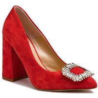 Półbuty - 14156-8a-g13/000-04-00 czerwony, Solo femme