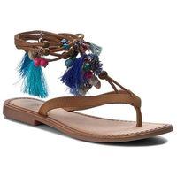 Sandały GIOSEPPO - Decore 40656-30 Tan/Blue, w 4 rozmiarach