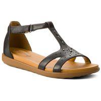 Sandały CLARKS - Un Reisel Mara 261332584 Black Leather, w 4 rozmiarach