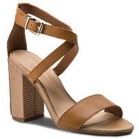 Sandały TOMMY HILFIGER - Feminine Heel Sandal Star Stud FW0FW02235 Summer Cognac 929