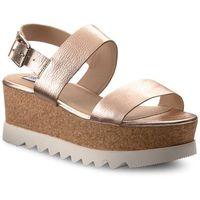 Sandały - krista platform sandal 91001050-10001-15002 rose gold, Steve madden, 40-41