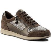 Sneakersy GEOX - D Avery A D74H5A 0PV22 C1X6J Smoke Grey/Chestnut
