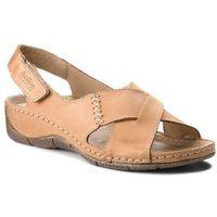 Sandały HELIOS - 229-1 Jasny Brąz, 1 rozmiar