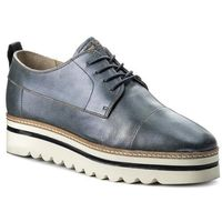 Oxfordy MARC O'POLO - 801 14453402 102 Gunmetal/Grey 181, kolor niebieski