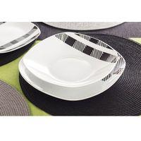 Giardino klasyczna kratka ma-709 serwis obiadowy 18/6 marki Giardino / ma-709 klasyczna kratka