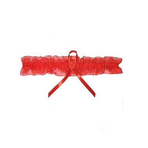 Enjoy Podwiązka eva 1179 czerwona rozmiar: uniwersalny, kolor: czerwony, enjoy