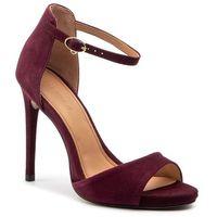 Sandały KAZAR - Lazurite 37813-02-M6 Bordeaux, kolor czerwony