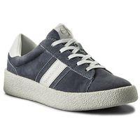 Calvin klein Sneakersy jeans - gaja r8782 denim blue/white