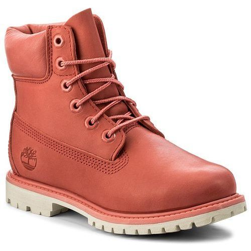 Trapery TIMBERLAND - 6In Premium Boot W A1AQK Spiced Coral, kolor różowy