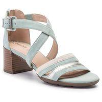 Sandały - d marykarmen m.s. e d92cwe 00021 c3u5k lt green/cream marki Geox