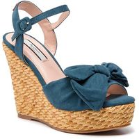 Espadryle - ohara natural pls90376 pop blue 570, Pepe jeans, 36-41
