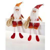 """Figury dekoracyjne """"nils & markus"""" (2 części) czerwono-biały marki Bonprix"""