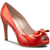 Szpilki GINO ROSSI - Olivia DCG805-P08-YV00-7100-0 33, kolor pomarańczowy